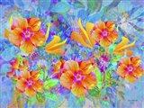 More Flowers Field Art Print