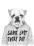 Same Shit Every Day Art Print