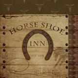 Horses Shoe Inn Art Print