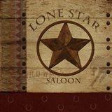 Lone Star Saloon Art Print
