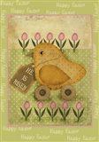 Single Easter Chick Xl Art Print