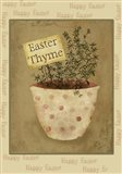 Single Easter Thyme Xl Art Print