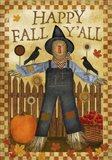 Happy Fall Y'all III Art Print