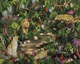 Exotic Jungle Art Print