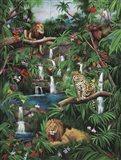 Freedom In The Jungle Art Print