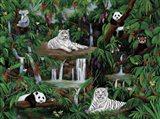 Friends In The Rainforest Art Print