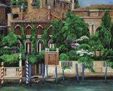 Venice Left Bank Art Print
