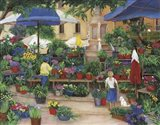 Flowers in Provence Art Print