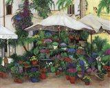 Floral Caffe Art Print