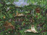 Jungle Creatures Art Print
