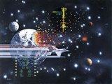 Conquering Space Art Print
