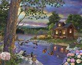 Peace River Art Print