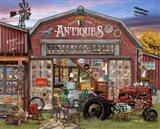 Aunt Teaks Antique Store Art Print
