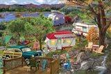 Mountain Camper Art Print