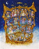 And The Angels Sing Art Print