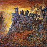 Rusty Train Art Print