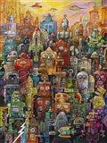 Robo Dootles Art Print