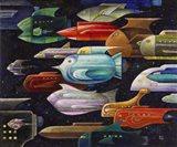 Rocket Fish Art Print