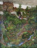 There are fairies at the bottom of my garden! Art Print