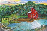 Clinton Falls Art Print