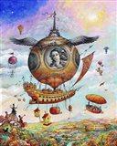 Voyage of the Minerva Art Print