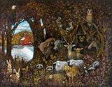 Peaceable Kingdom Art Print