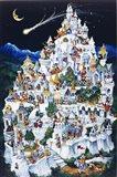 Animal Castle Art Print