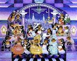 Penguin Penthouse Art Print