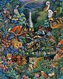 Rainbow Rainforest Art Print