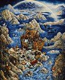 Blue Ark Art Print