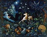 The Unicorn Art Print