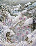 The Pink Ladies Art Print