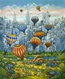 Central Park Balloons Art Print