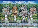 Dandelion Days Art Print