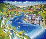 Boathouse Row Art Print
