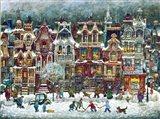 Montreal Winter Art Print