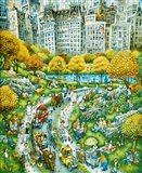 Central Park Sunday Art Print