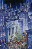 Christmas In The City Art Print