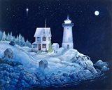 Stille Night Art Print