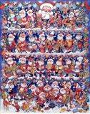 Will The Real Santa 2 Art Print