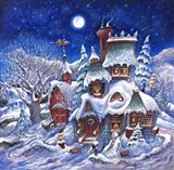 December Snow Art Print