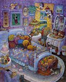 More Cats And Quilts Art Print