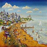 Cape May Beach Art Print