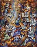 Kitchen Witch 2 Art Print
