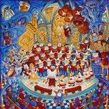 Holy Cats Meow-A- Lujah Chorus Art Print