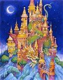 The Dragons Castle Art Print