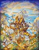Rainbow Ark Art Print