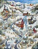 Country Winter (2) Art Print