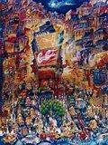 Memories Of Times Square Art Print