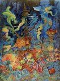 Mermaids Of Atlantis Art Print